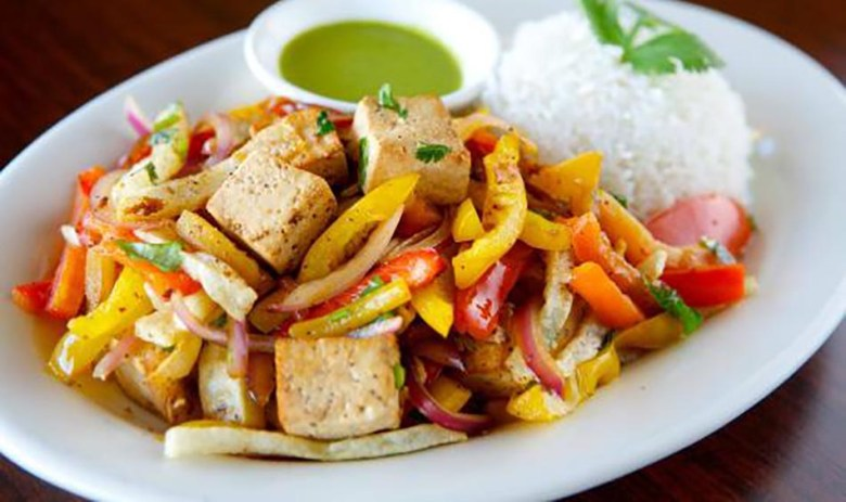 Tofu Saltado