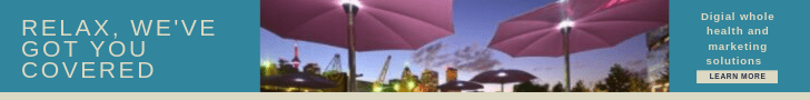 Banner ad for The Hemera Group, relax, we've got you covered