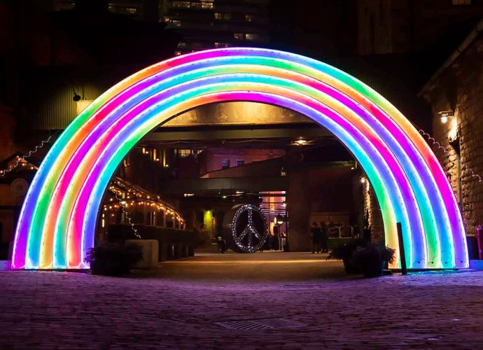 Distillery District Light Festival_Toronto