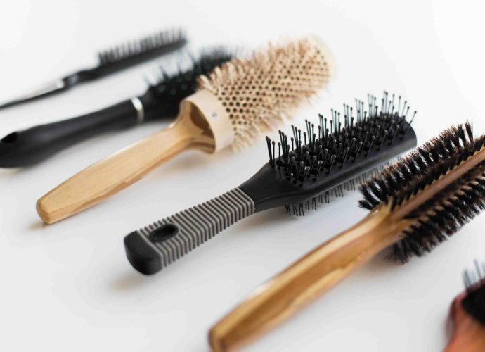 different hair brushes