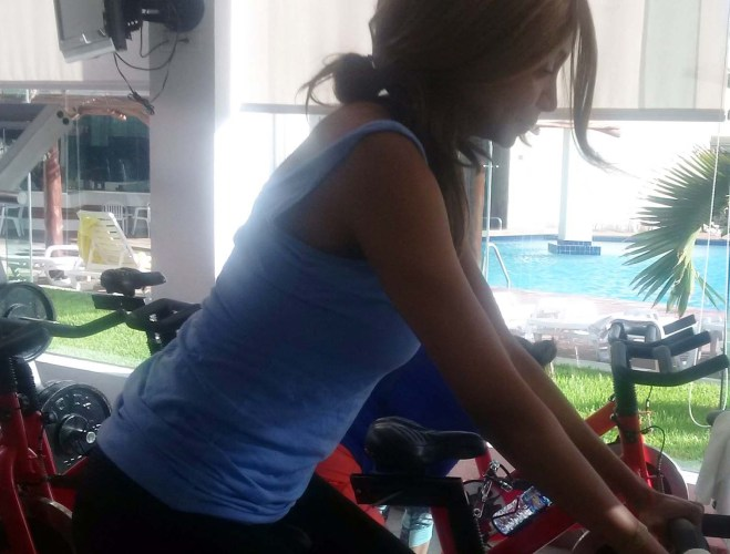 Fitness motivation in Cancun
