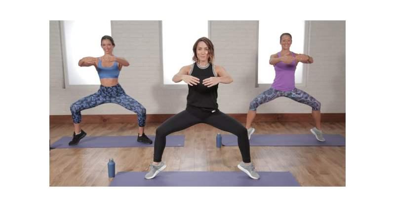 popsugar fitness Selena Gomez workout