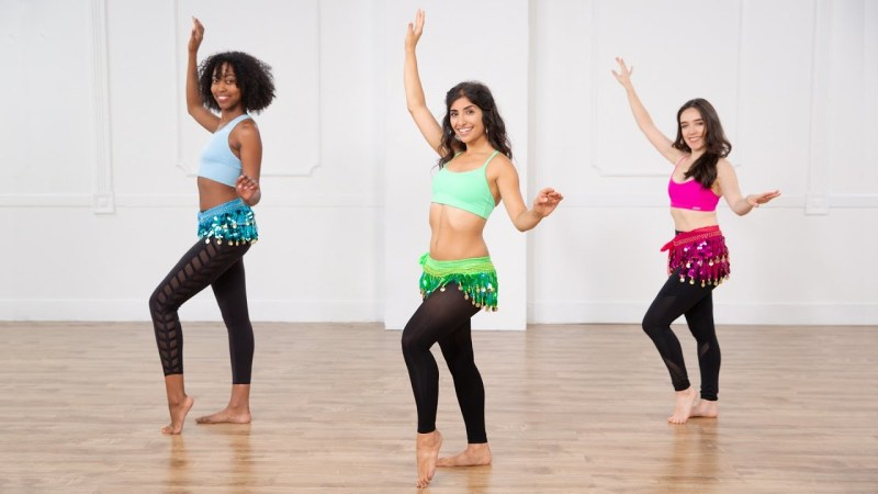 popsugar fitness belly dancing