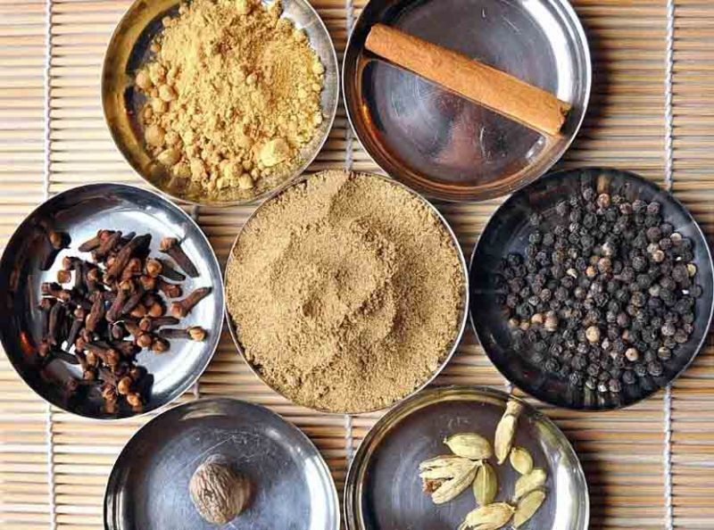 Spices for chai latte smoothie recipe