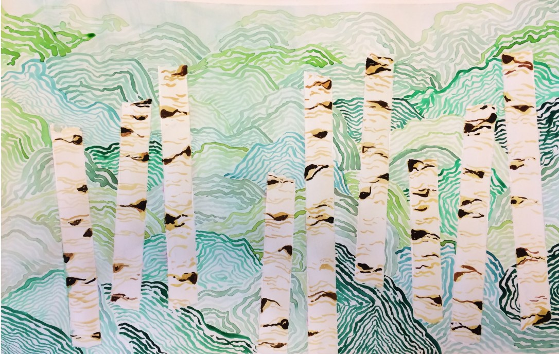 trees juliana bio art