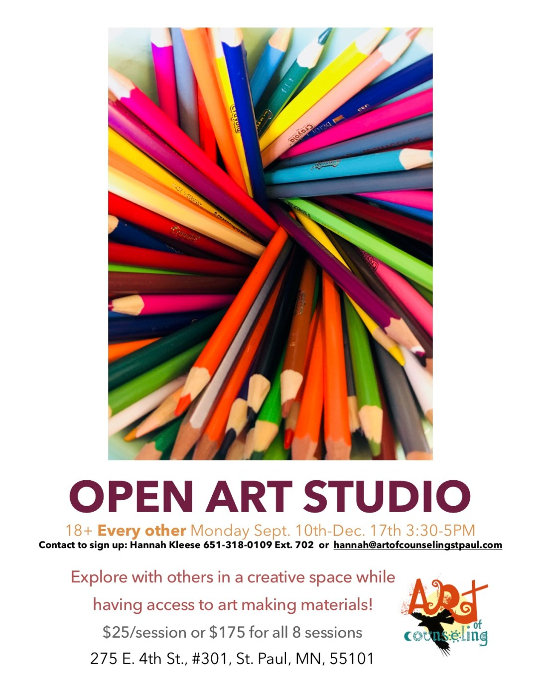 Open art studio