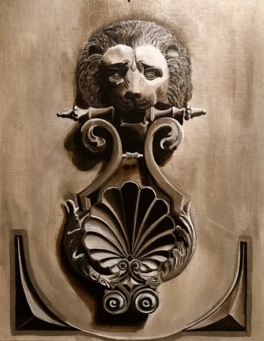 Door Knocker Painting