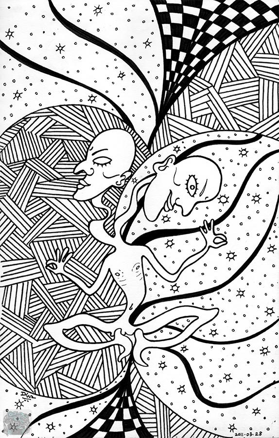 Art-of-Divya-Suvarna_Psychedelizm-20110328 Paradox