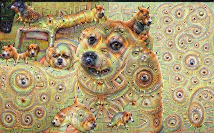 Google Deep Dream inceptionism