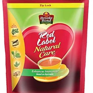 Red Label Natural Care Tea, Made with 5 Ayurvedic Herbs, 1 Kg