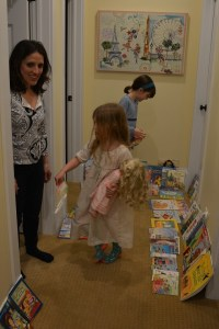 Buying our favorite books.