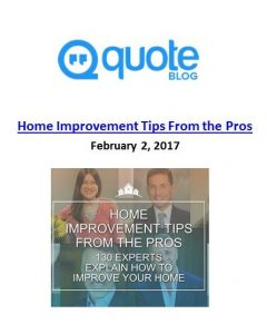 Quote.com_Home Improvement Tips From The Pros