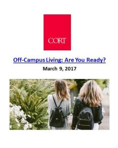 Cort_Off-Campus Living Are You Ready