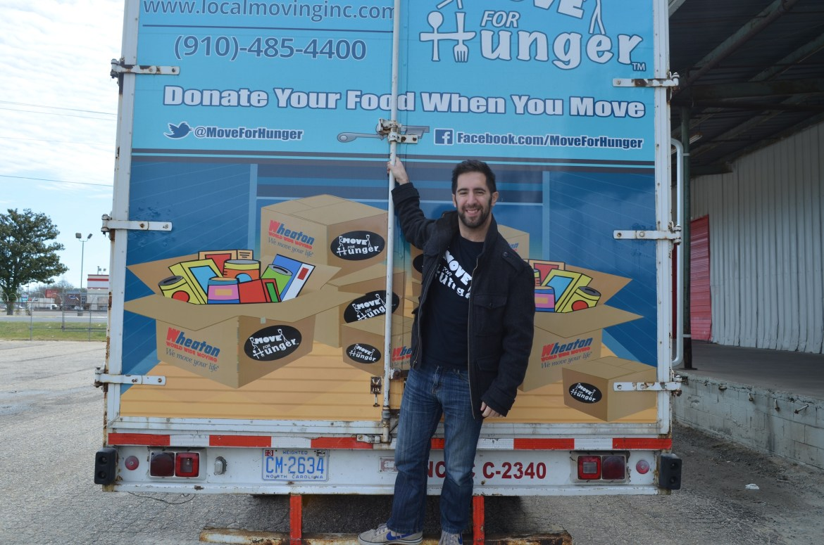 Adam Lowy, Founder and Executive Director of Move for Hunger