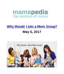 Mamapedia_Why Should I Join a Mom Group