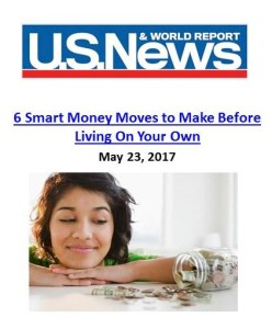 U.S. News and World Report_6 Smart Money Moves to Make Before Living On Your Own