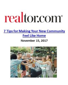 Just Moved? 7 Tips for Making Your New Community Feel Like Home