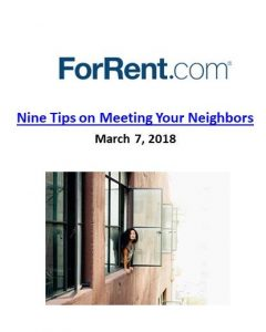 ForRent.com_Nine Tips on Meeting Your Neighbors