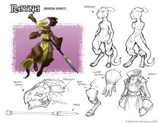 Rayna - Design Sheet