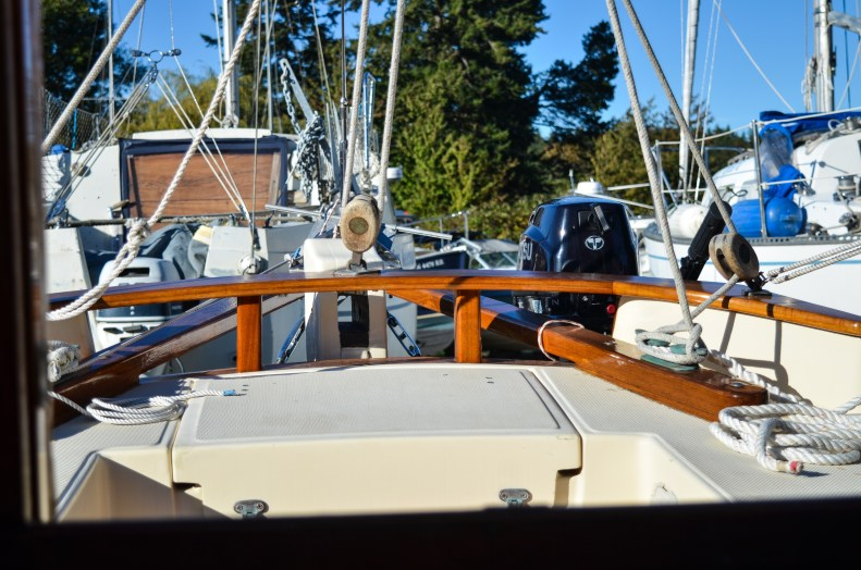 Living aboard a small sailboat