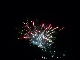Fourth of July was spent at my community's annual firework's show.