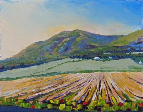 Image result for palette knife farm painting