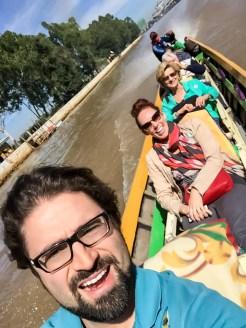 Boating in Burma