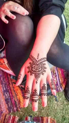 Bracelet Hand Henna