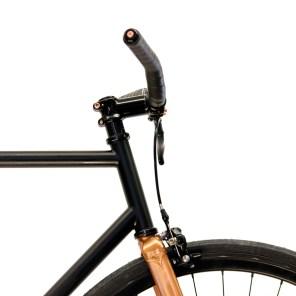 "Gorilla . urban cycling Bikes ""Hattara Schwarz-Kupfer"""