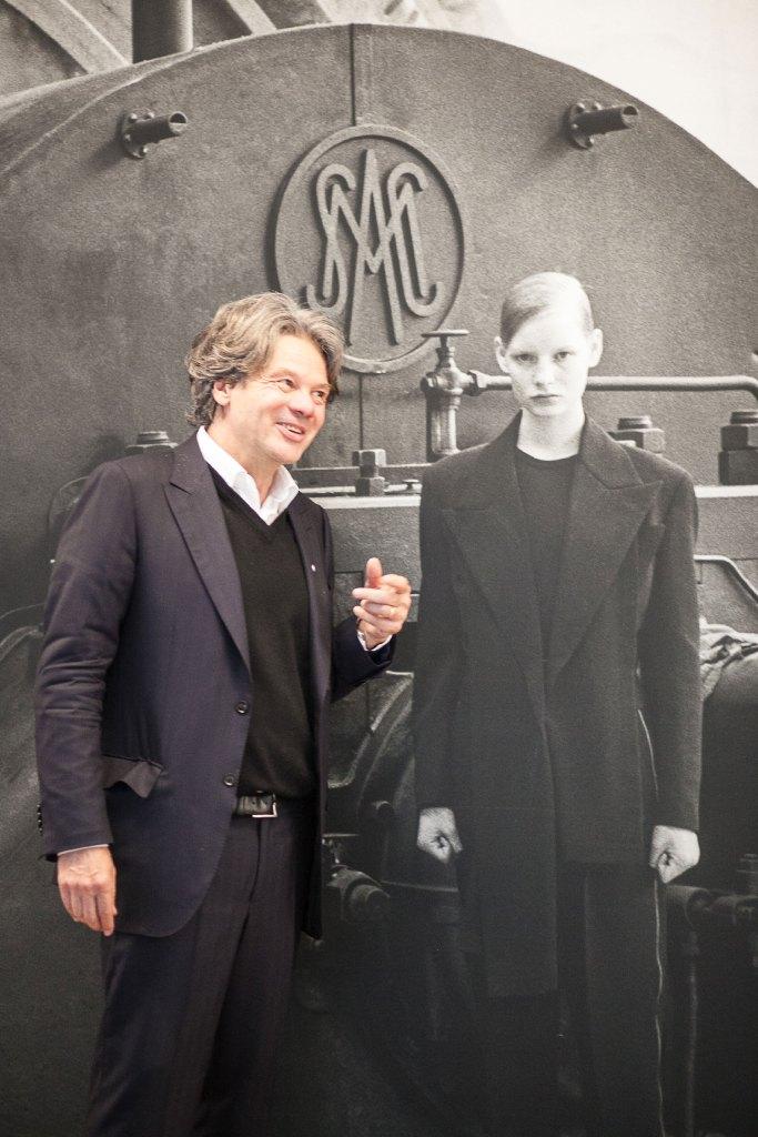 Michael Käfer freut sich an Peter Lindbergh