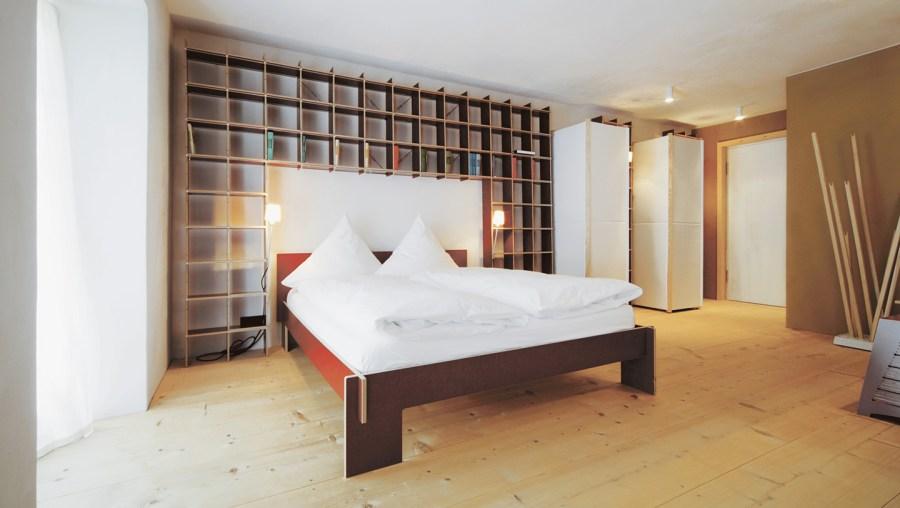 Berge - Schlafzimmer im Vorderstöbchen.