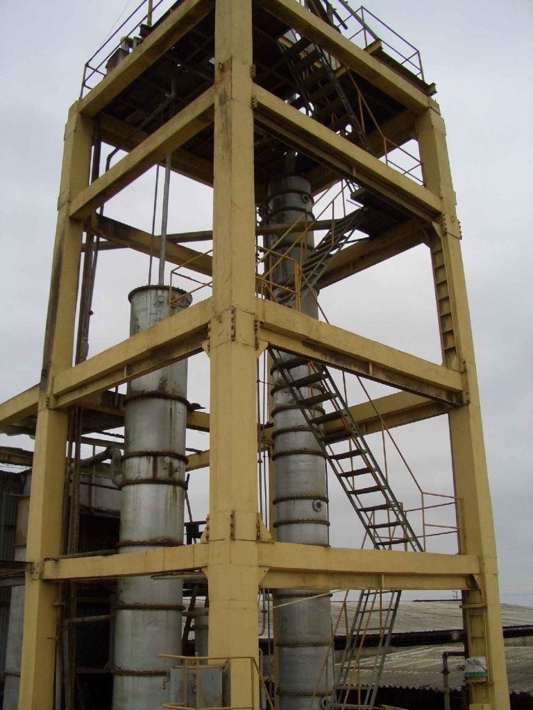 Rum-Anlage im peruanischen Hochland