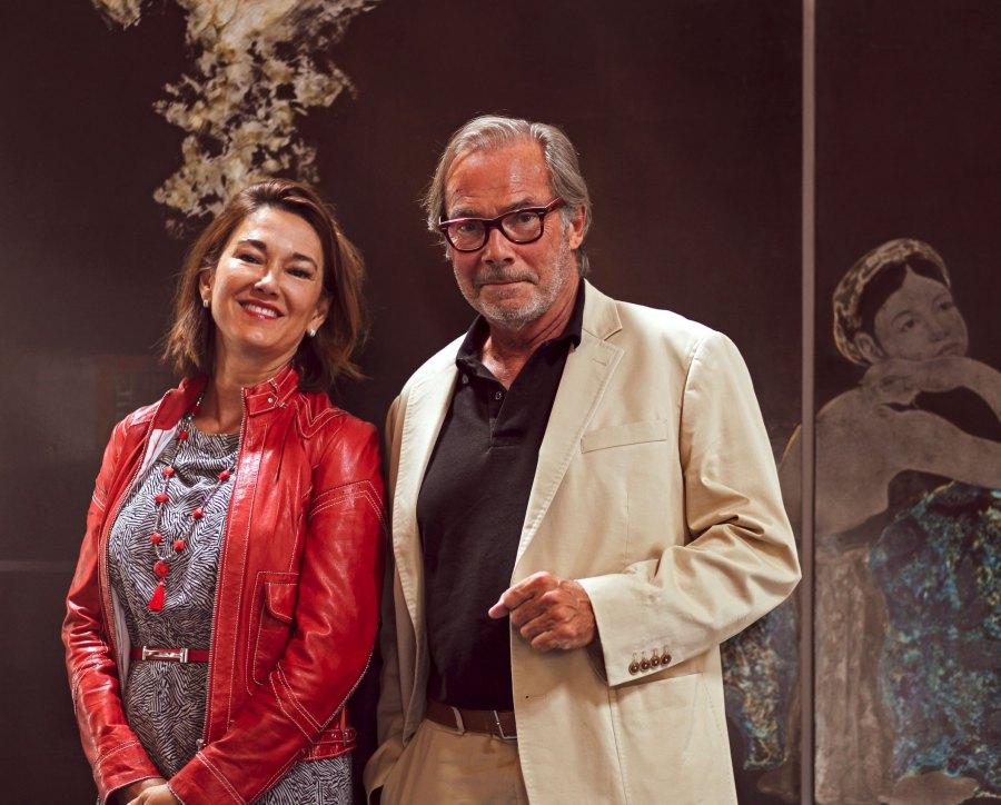 Das Ehepaar Sophie und Didier Guillon - Kunst & Kosmetik vereinend