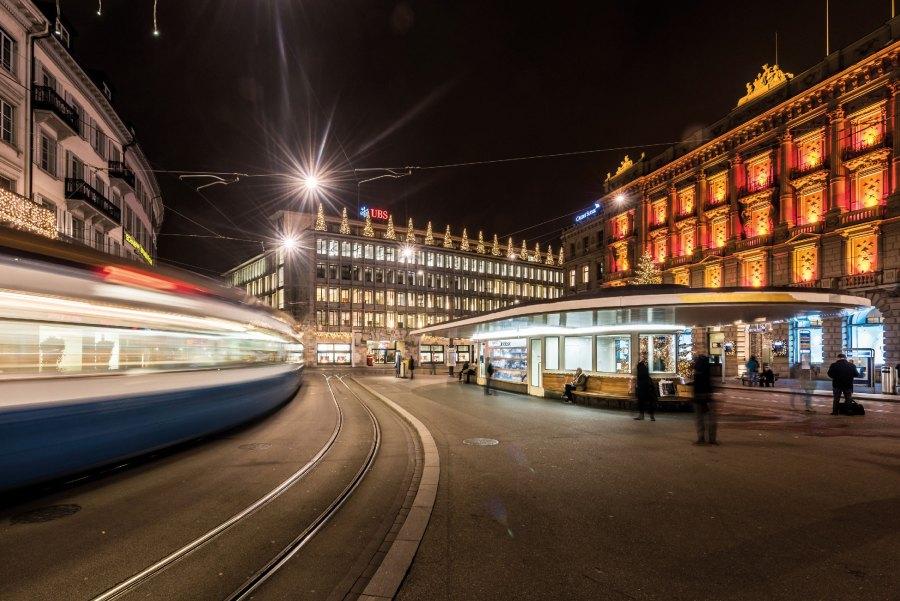 Zürich - Schweizer Finanzzentrum