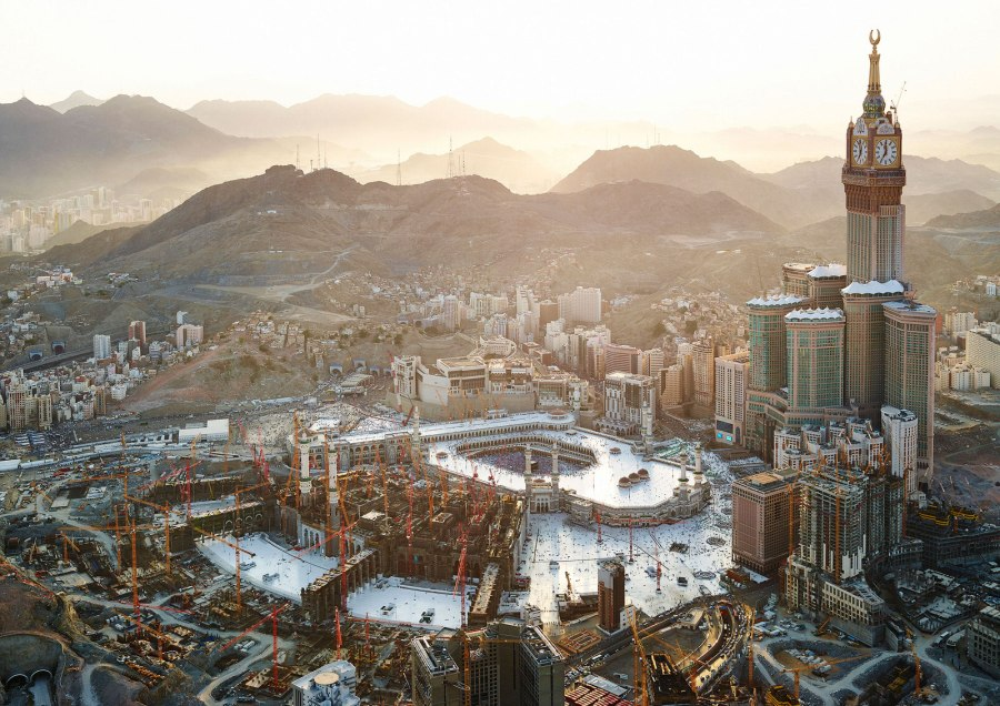 Mekka Royal Clock Tower Hotel mit Ausblick
