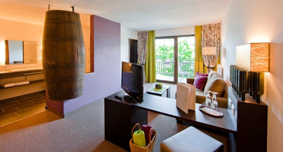 Juniorsuite Magnum im Hotel der Weinmesser