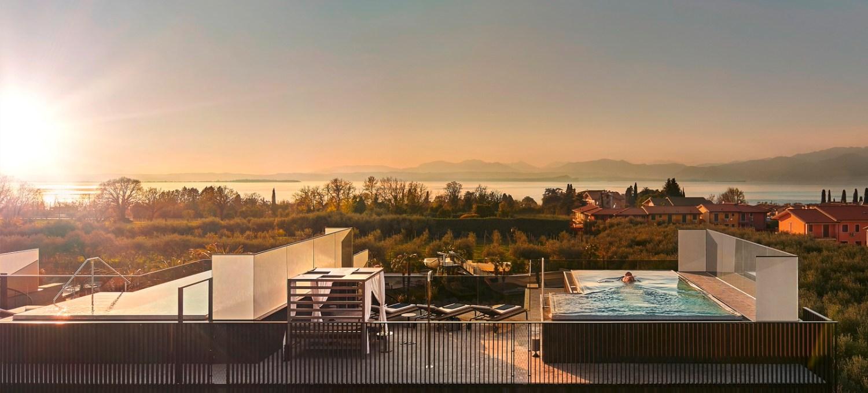 Quellenhof Resort Lazise Penthouse Pool Villa