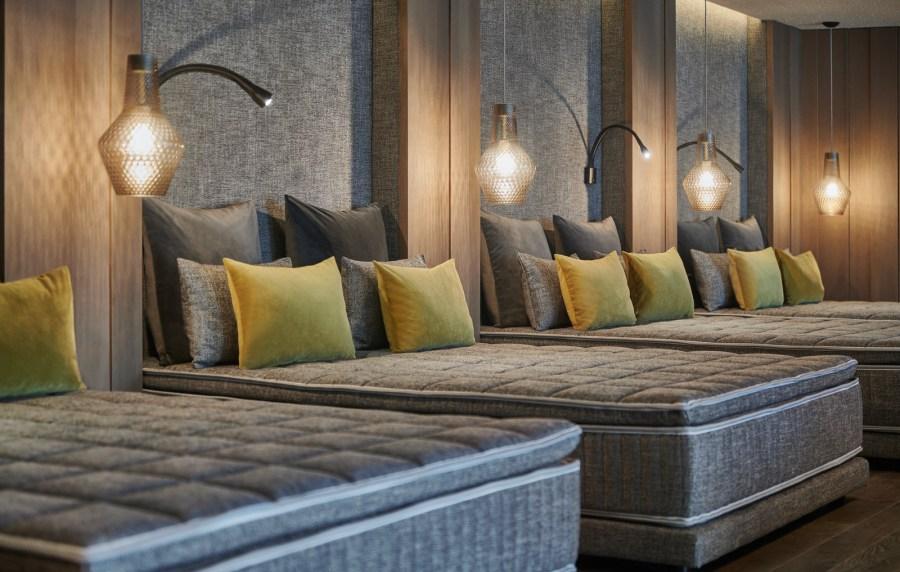 Quellenhof Luxury Resort Lazise Ruheraum Onda Spa.