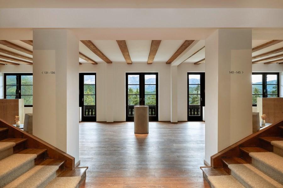 Forestis Eingangsbereich und Reception.