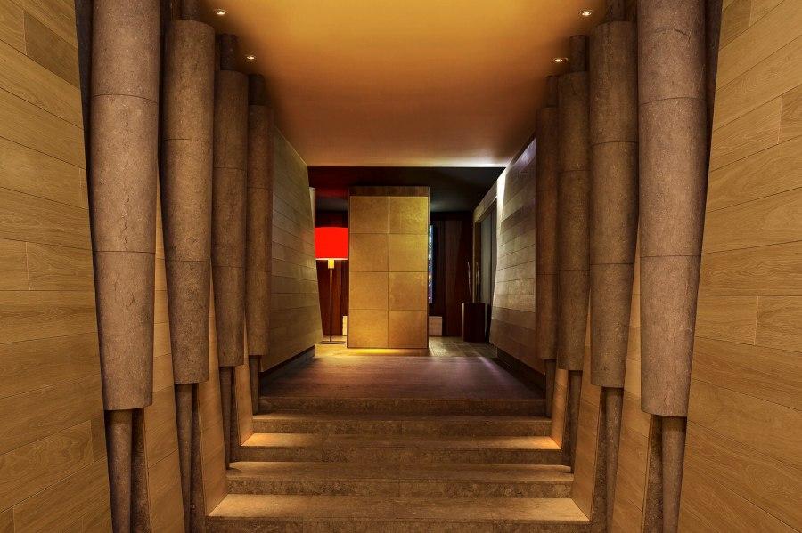 Eingangsbereich The Chedi Spa.
