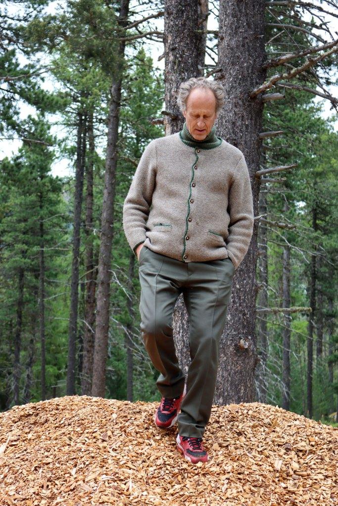 Matteo Thun Holz in jeder Form für seine Bauten - Zero Waste