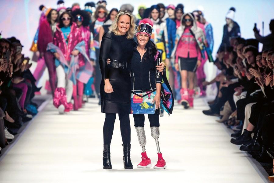 Ulli Ehrlich with Giusy Versace