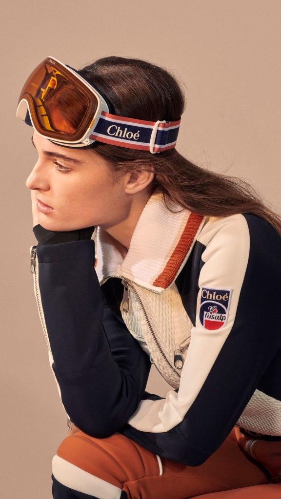 Chloé x Fusalp: Retro-Look paart sich mit modernster Funktionalität.