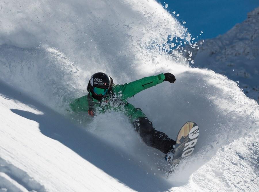 Xavier de le Rue Snowboard-Cross-Weltmeister.