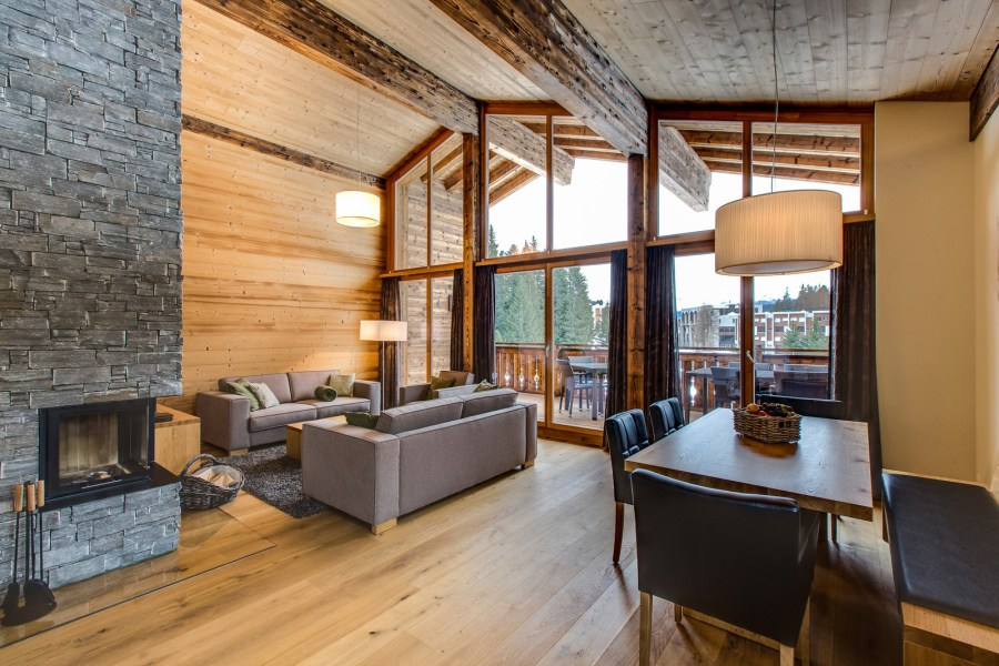 Chalet in der Privà Alpine Lodge