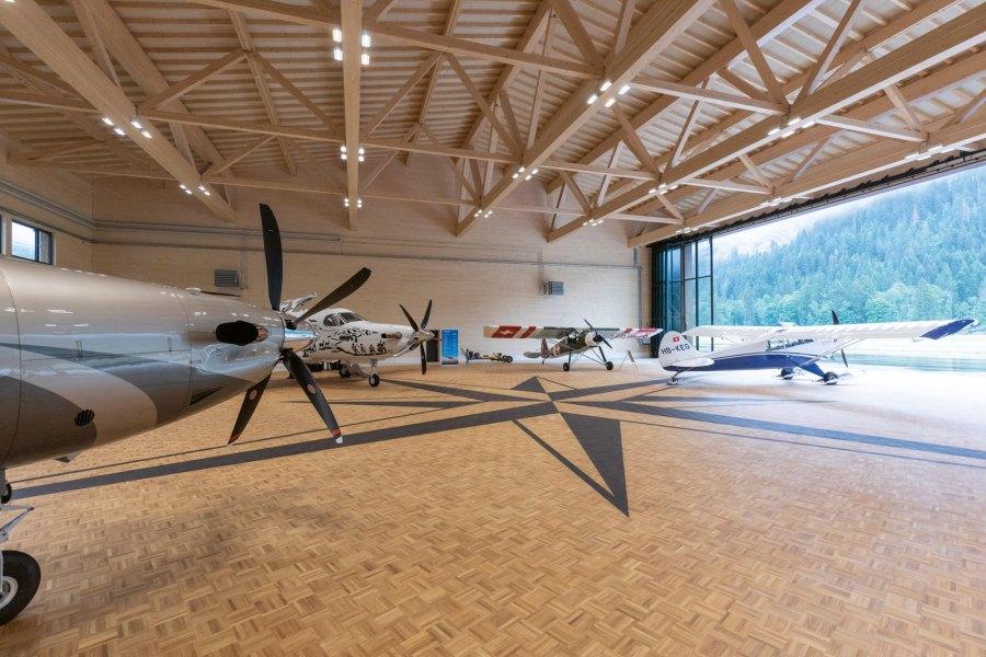 Neubauten Flugplatz Gstaad