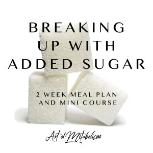 No Sugar Added Meal Plans