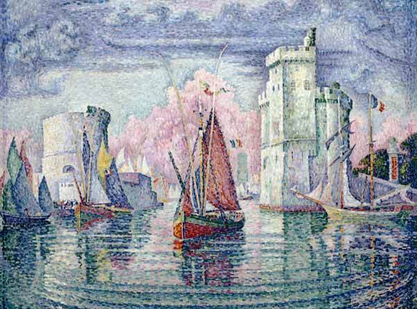 signac_port-of-la-rochelle_pointilism