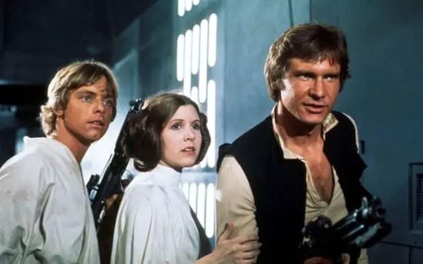 B7W6MM  FILM Star wars