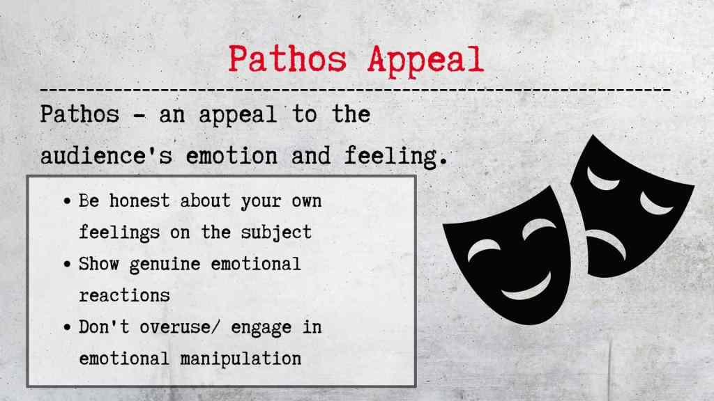 Pathos Appeal